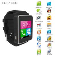 Bluetooth Android Smart Cell Watch Phone With Pedometer For Sport People