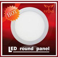 Yifond LED round panel light flat ceiling