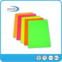 Self adhesive fluorescent adhesive paper sticker thumbnail image