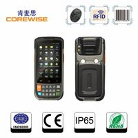 handheld wireless Android smart card reader with NFC,RFID,Barcode scanner----CFON610