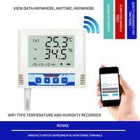 Wireless Long Range Wall-mounted modbus temperature humidity sensor