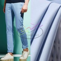 Twill polyester and cotton medical fabric