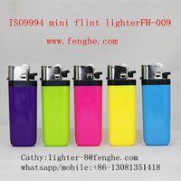 FH-009 mini lighter ISO9994 novelty disposable flint lighter