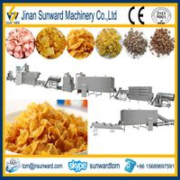 Twin Screws Breakfast Cereal Extruder Machine