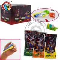 Mixed Tooth Candy +Jelly Jam Candy with Nail Toy