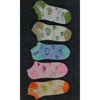 China cotton women socks with fashion striped(stripe) pattern thumbnail image