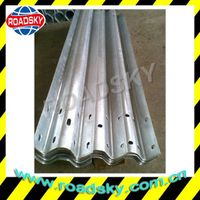 Road Safety Anti-Aging Steel Flex Beam Crash Barrier
