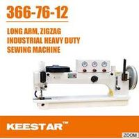 Long arm zigzag sewing machine 366-76-12