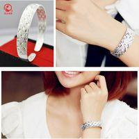 Sterling Silver Bracelet Silver Bangle, Fashion Silver Bracelet