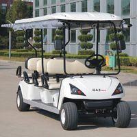 CE approve 6 seat electric golf bus car