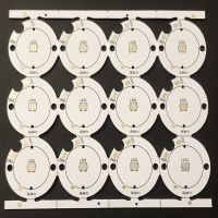Board Aluminum Pcb For Led FR-4 ,Copper Thickness: 0.5 ,Board Thickness: 1.6mm, 1.6mm-3.2mm,Print B
