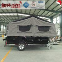 ADRs 62 Off road camping trailer with 220V Australia input charger plug waterroof