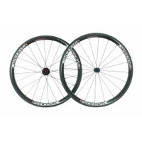 38mm Clincher Road Carbon Wheels with 2:1 Spokes Ratio