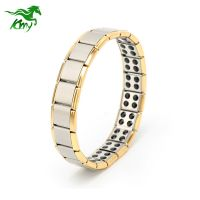 Top Quality Titanium Ion Energy Stainless Steel Bracelet