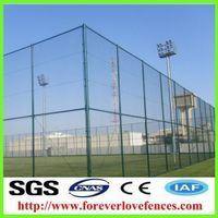 China manufacturer cheap iron garden fence used home fence designs chain link fence for sale