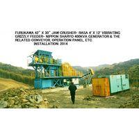 "USED ""FURUKAWA"" 42"" X 30"" JAW CRUSHER PLANT thumbnail image"