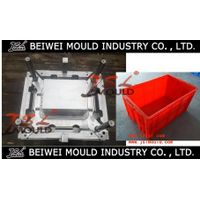Premuim customized plastic turnover box mold