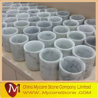 White Marble Stone Cups