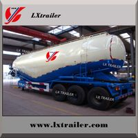 Powder Material Transport Semi-trailer/bulk Cement Semi-trailer