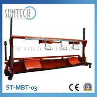ST-MBT-03 Motorized Warp Beam Lift Trolley With Harness Mounting Device(For Twin Warp Beam; Wider Wi