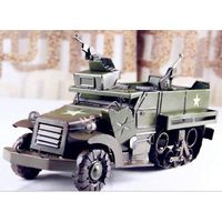 tinplate army car model