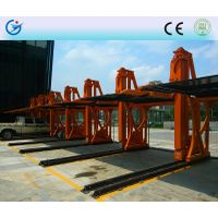 Lift -sliding motorized hydraulic car parking lift