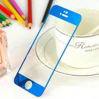 """Electroplate Screen Protector Protection Film for iPhone 6 4.7""""- Blue"""