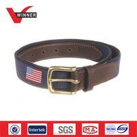 Men's Club Belts New American Flags Canvas Belt thumbnail image