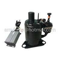 sleeper bus aircon kits electric 12V compressor replace scroll for 12v/24v dc battery power ac thumbnail image