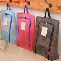 Lightweight Custom Mesh Storage Traveling Tote Shoe Bags thumbnail image