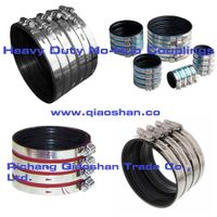 Stainless Steel Heavy Duty No-Hub Coupling for No Hub Pipe and Drain products Connection thumbnail image