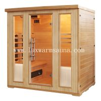 Ceramic tube heater far infrared sauna room