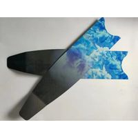 carbon blade for Scuba diving fins deep water diving sea diving fins with good resilience