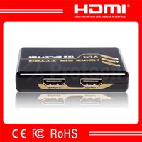 4K Splitter Cheap Plastic Case 1 input 2 output HDMI Splitter 1X2 for 4K TV