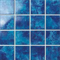 Mixed blue ceramic mosaic for swimming pool thumbnail image