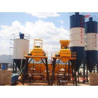 Hopper Lift Concrete Mixing Plant HZS series