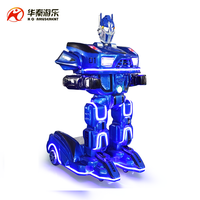 New mini iron man robot for amusement park and shopping mall