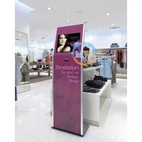 19 inch floor standing retail advertising display