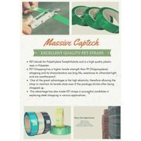 Polyester (PET) strap for industrial packaging thumbnail image