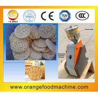 artificial puffing rice cake machine