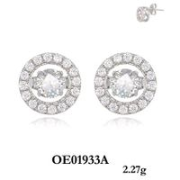 hot sale classic silver earring for sale