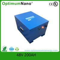 48V 200AH Lithium ion battery for energy storage
