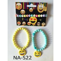 emoji bead bracelet,bead bracelet,novelty bracelet