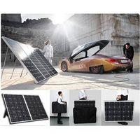 portable folding solar panel (40w-200w) thumbnail image