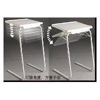 Portable Folding Metal Plastic Table thumbnail image