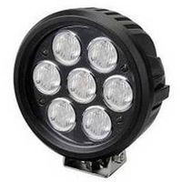 Hotsale 12v led work light 70W 7inch IP67 trucks/auto LED work light