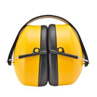 CE EN352 ANSI S3.19 Folding Helmet Mounted Inserted Acoustic Noise Reduction Earmuffs thumbnail image