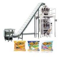 Multihead weigher ground coffee vertical form fill seal machine thumbnail image