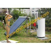 500L active high pressure solar water heater