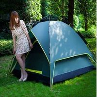 Foldable 2 person automatic camping tent lightweight beach tent outdoor